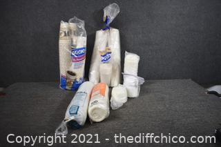 To Go Cups and Lids