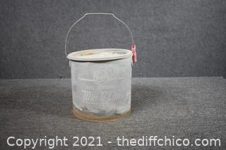 Bait Bucket - 10in dia x 9  1/2in