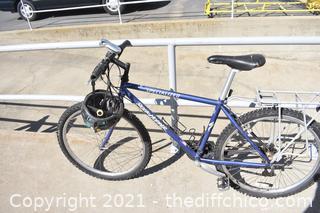 26in Rock Hopper Bike w/helmet
