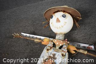 Scarecrow Yard Art