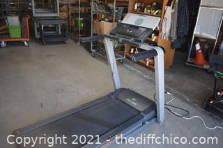 Working Portable NordicTrack A2105 Treadmill