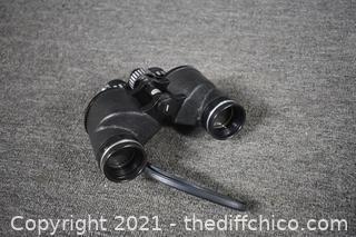 Sears Binoculars w/case