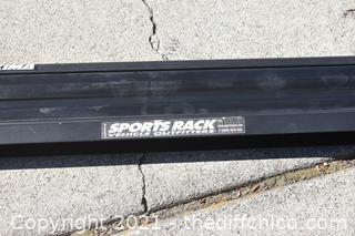29 1/2in long Sports Rack