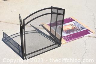 NIB 48in Fireplace Screen