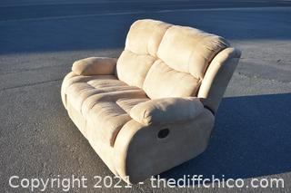 61in long Recliner Love Seat