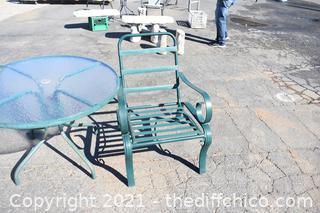3 Piece Patio Set - Table plus 2 Chairs