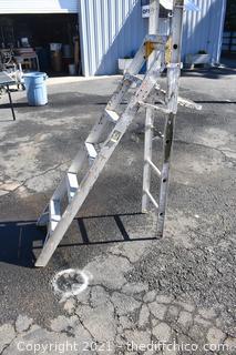 76in tall Folding Ladder