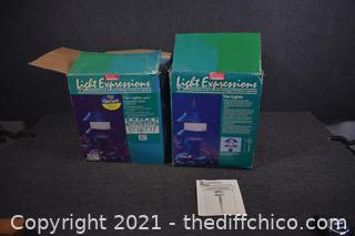 2 Boxes of Tier Garden Lights