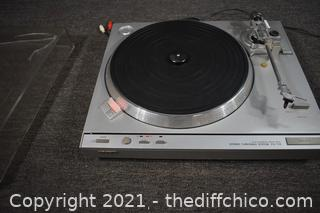 Working Sony Turntable
