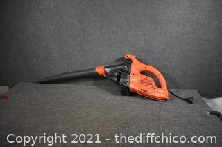 Working Black and Decker Electric Blower