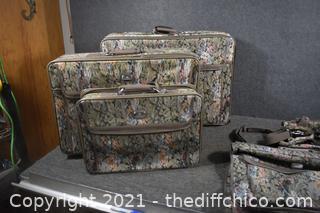 5 Piece Jordache Luggage Set