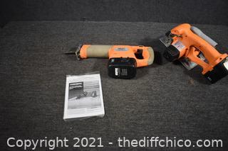 Chicago Sawzall, Circular Saw, 2 18v Batteries. No Charger