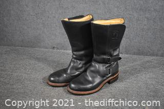 Chippewa Leather Boots Size 8 1/2D
