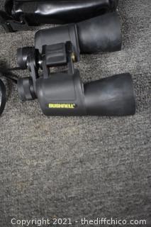 Bushnell Binoculars w/case