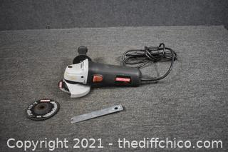 Working Craftsman Right Angle Grinder