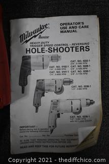 Working Milwaukee Hole Shooter