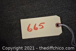 Sign - 18in x 5 1/2in