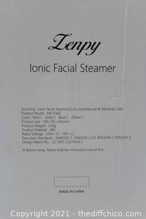 Facial Steamer Nano Ionic Hot Mist Face Steamer Home Sauna SPA Face Humidifier Atomizer for Women Men Moisturizing Unclogs Pores Spa Quality