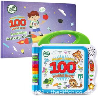 LeapFrog Learning Friends English-Chinese 100 Words Book with Learning Activity Guide, Amazon Exclusive
