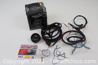 AEM 30-0300 X-Series Wideband UEGO AFR Sensor Controller Gauge (1 set of wires damaged)