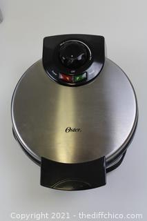 Oster Belgian Waffle Maker, Stainless Steel (CKSTWF2000)