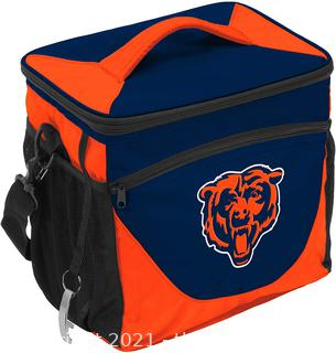 Logo Brands Officially Licensed NFL 24 Can Cooler, One Size CHICAGO BEARS