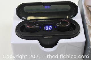 F9 TWS Wireless Bluetooth 5.0 Headphones