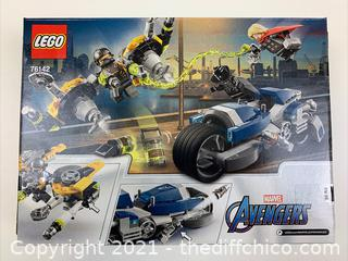 NEW LEGO Marvel Avengers Speeder Bike Attack 76142 Black Panther and Thor Buildable Superhero Toy