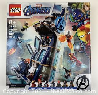 ($89.99) LEGO 76166 Marvel Avengers Tower Battle Building Set NEW SEALED