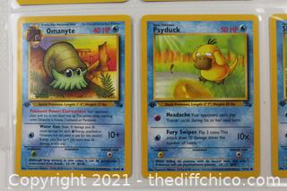 Lot of 1999 Pokémon Cards - RARE 1ST EDITIONS -