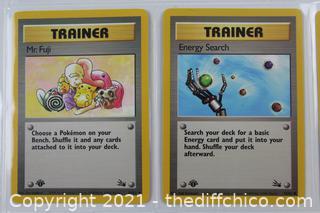Lot of 1999 Pokémon Cards - RARE 1ST EDITIONS -