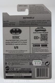 2016 HOT WHEELS ~ BATMAN VS SUPERMAN ~ BATMOBILE ~ BATMAN 5/5 ~ Card 230/250