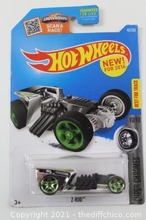 2016 Hot Wheels SUPER CHROMES 10/10 Z-Rod 45/250
