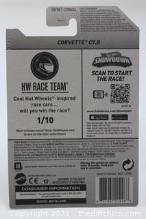 2016 HOT WHEELS HW RACE TEAM WHITE CORVETTE C7.R 1/250
