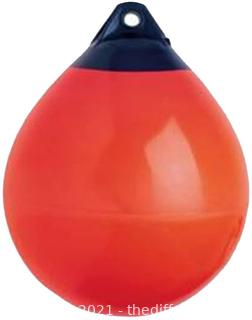 Boat Fender Ball Round Anchor Buoy, Dock Bumper Ball Inflatable Vinyl A Series Shield Protection Marine Mooring Buoy