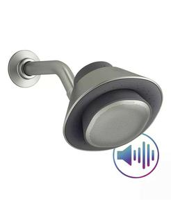 NEW Kohler Moxie Showerhead with Integrated Portable Harman Kardon Wireless SPEAKER