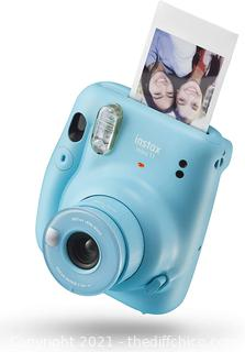 Fujifilm Instax Mini 11 Instant Camera - Sky Blue