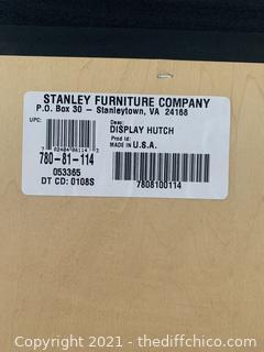 Stanley Furniture Company Display Hutch