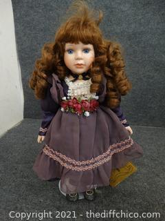 "Porcelain Doll 16"""