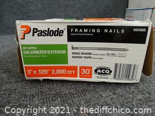 Paslode Framing Nails