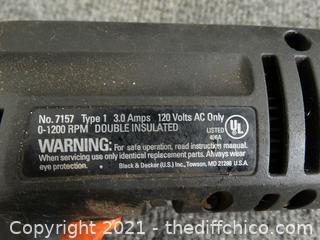 Black & Decker  D2000 Drill Wks