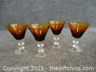 Set Of 4 Glasses