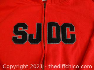 SJDC Zip Up Sweatshirt L