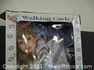 Walking Carly Doll