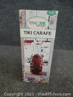 Tiki Carfe Jar
