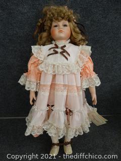 Camelot Porcelain Doll