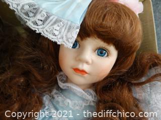 Seymour Porcelain Doll