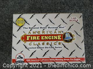 The National Motor Museum Mint  American Classica Die Cast Series Fire Engine
