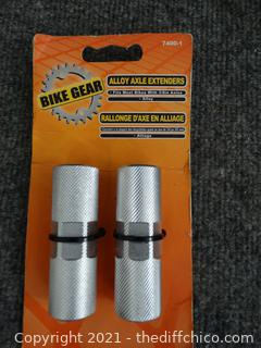 NEW Bike Gear Alloy Axe Extenders