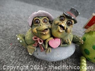 Frog Knick Knacks